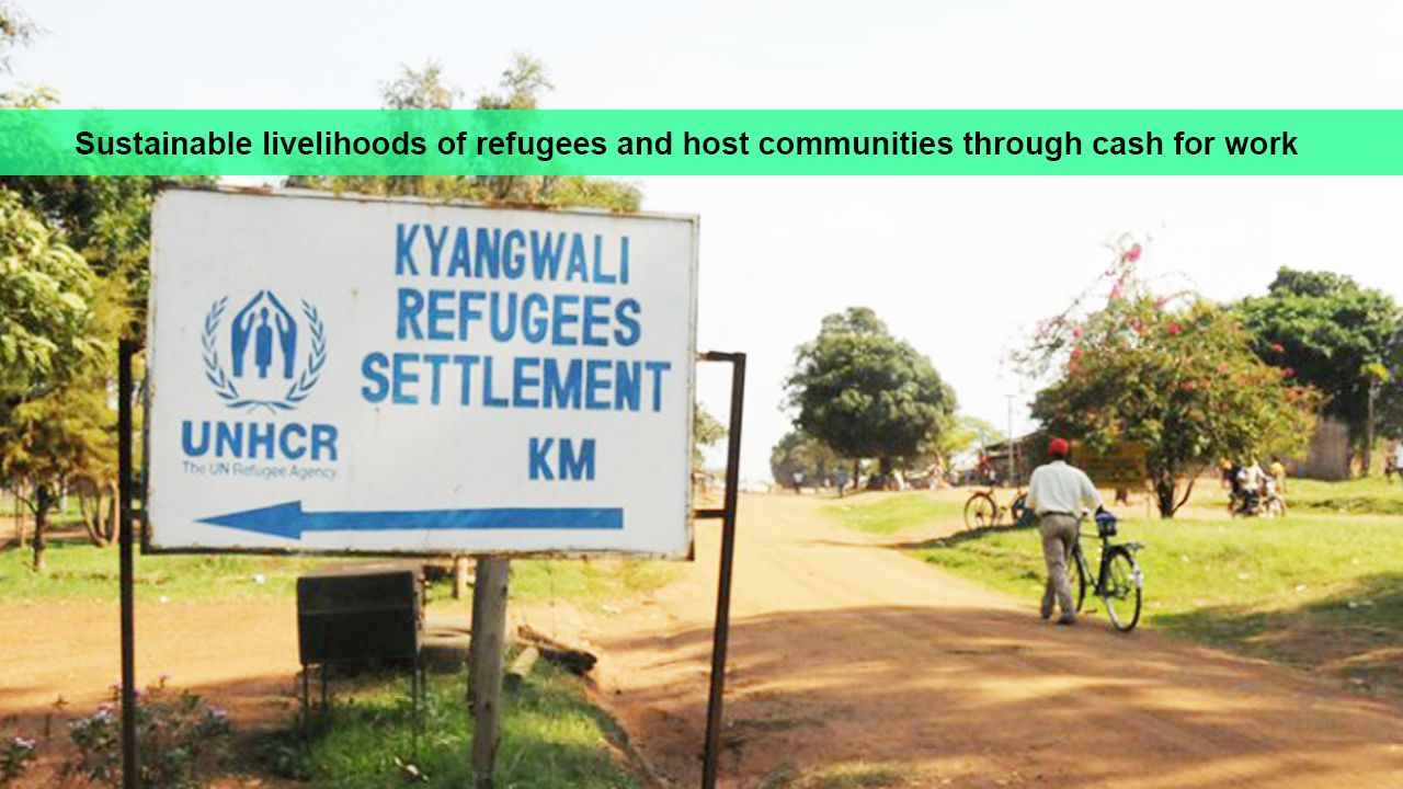 Kikuube District is Hosting  Refugees